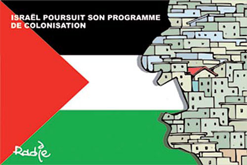 Israël poursuit son programme de colonisation - programme - Gagdz.com