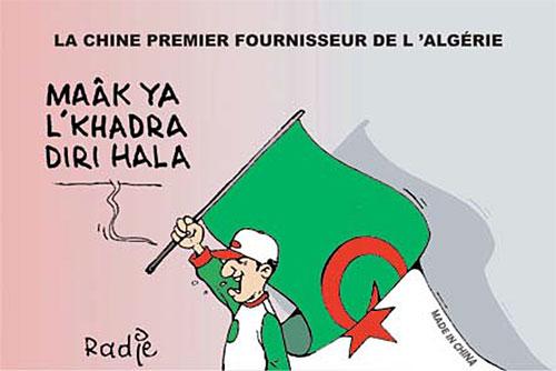 La Chine premier fournisseur de l'Algérie - Ghir Hak - Les Débats - Gagdz.com