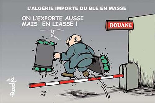 L'Algérie importe du blé en masse - Ghir Hak - Les Débats - Gagdz.com
