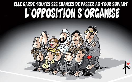 Elle garde toutes ses chances de passer au tour suivant: L'opposition s'organise - toutes - Gagdz.com