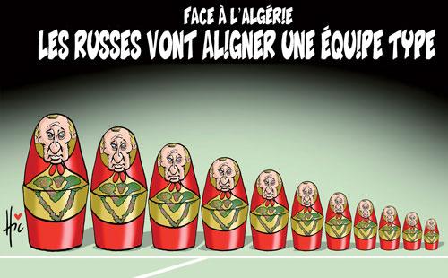 Face à l'Algérie: Les Russes vont aligner une équipe type - Le Hic - El Watan - Gagdz.com