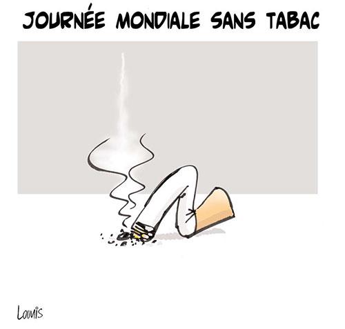 Journée mondiale sans tabac - Lounis Le jour d'Algérie - Gagdz.com