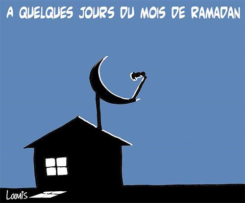 A quelques jours du mois de ramadan - Lounis Le jour d'Algérie - Gagdz.com
