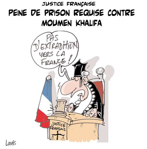 Justice française: Peine de prison requise contre Moumen Khalifa - Moumen - Gagdz.com