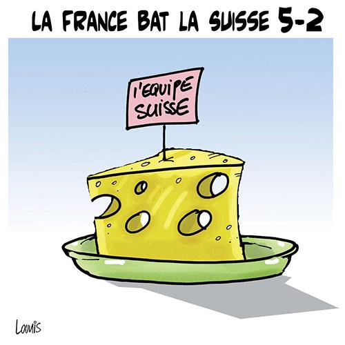 La France bar la Suisse 5-2 - Lounis Le jour d'Algérie - Gagdz.com
