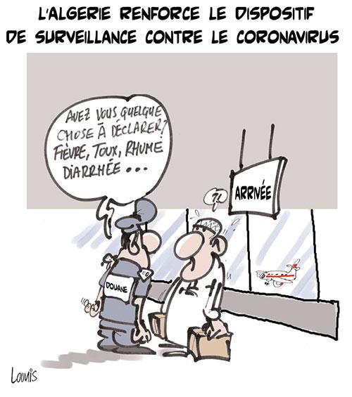 L'Algérie renforce le dispositif de surveillance contre le coronavirus - Lounis Le jour d'Algérie - Gagdz.com