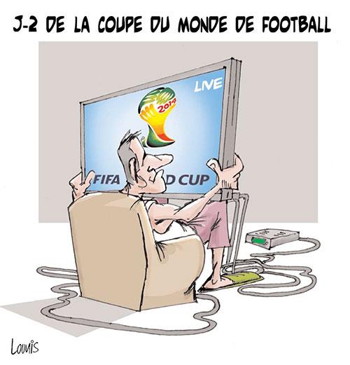 J-2 de la coupe du monde de football - Lounis Le jour d'Algérie - Gagdz.com