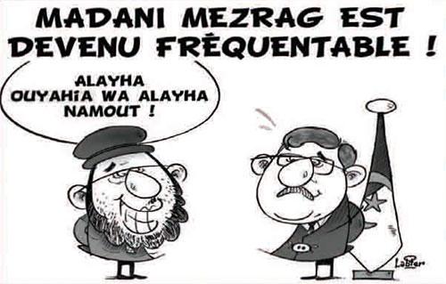 Madani Mezrag est evenu fréquentable - Madani - Gagdz.com