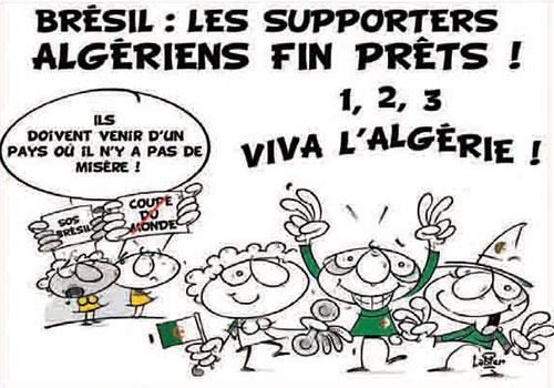 Brésil: Les supporters algériens fin prêts - supporters - Gagdz.com