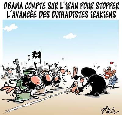 Obama compte sur l'Iran pour stopper l'avancée des djihadistes irakiens - Obama - Gagdz.com