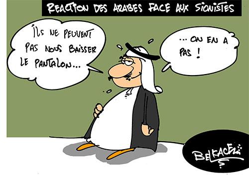 Réaction des arabes face aux sionistes - Belkacem - Le Courrier d'Algérie - Gagdz.com