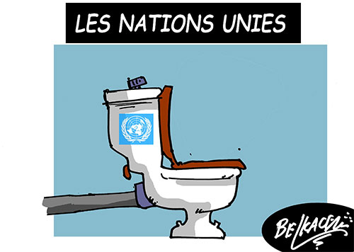 Les nations unies - Belkacem - Le Courrier d'Algérie - Gagdz.com