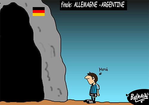 Finale: Allemagne - Argentine - Belkacem - Le Courrier d'Algérie - Gagdz.com