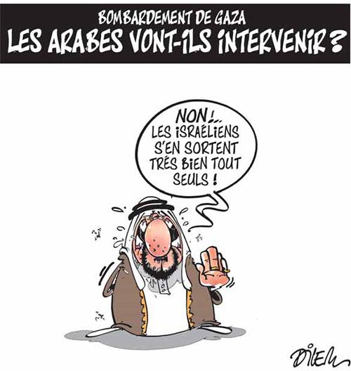 Bombardement de gaza: Les arabes vont-ils intervenir ? - Dilem - Liberté - Gagdz.com