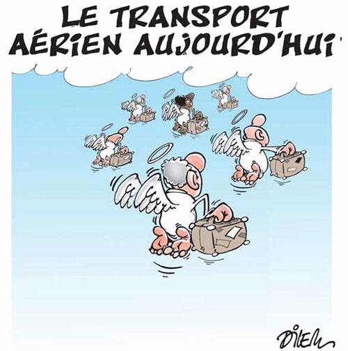 Les transport aérien aujour'hui - Dilem - Liberté - Gagdz.com