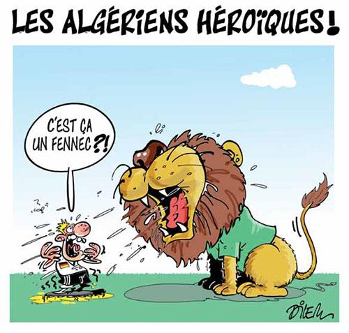 Les Algériens héroïques - Dilem - Liberté - Gagdz.com