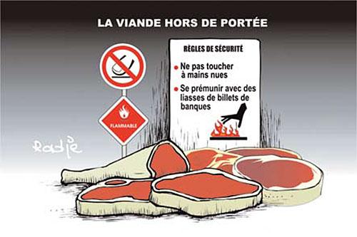 La viande hors de portée - Ghir Hak - Les Débats - Gagdz.com
