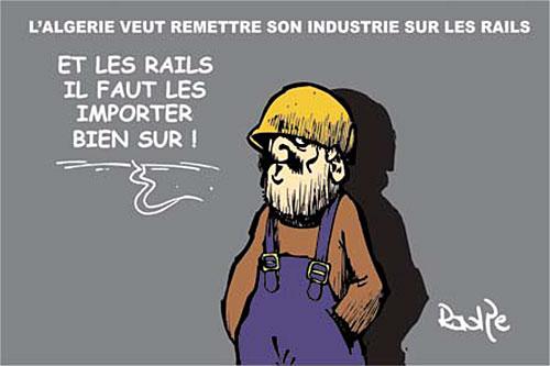 L'Algérie veut remettre son industrie sur les rails - Ghir Hak - Les Débats - Gagdz.com