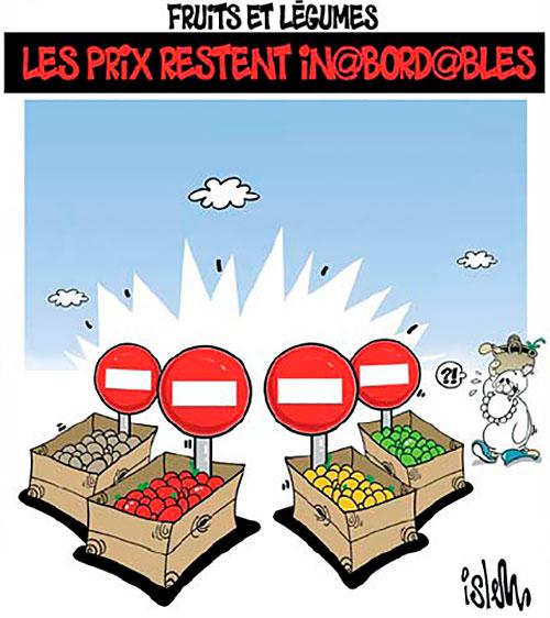 Fruits et légumes: Les prix restent inabordables - Islem - Le Temps d'Algérie - Gagdz.com