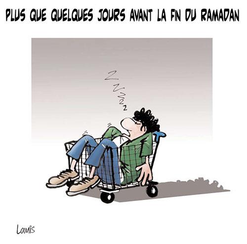 Plus que quelques jours avant la fin du ramadan - Lounis Le jour d'Algérie - Gagdz.com