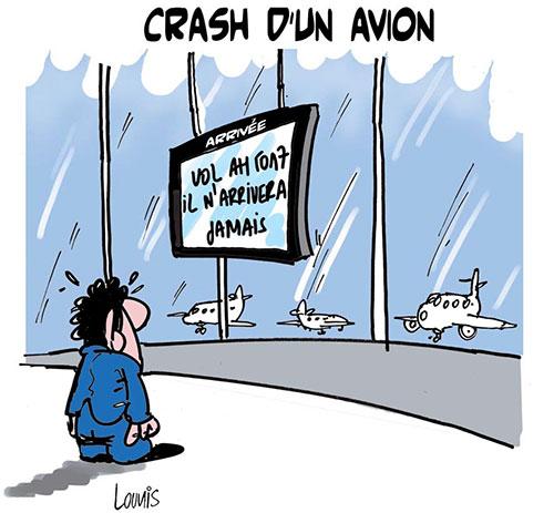 Crash d'un avion - Lounis Le jour d'Algérie - Gagdz.com