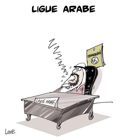 Ligue arabe - Lounis Le jour d'Algérie - Gagdz.com