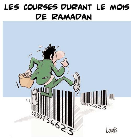 Les courses durant le mois de ramadan - Lounis Le jour d'Algérie - Gagdz.com