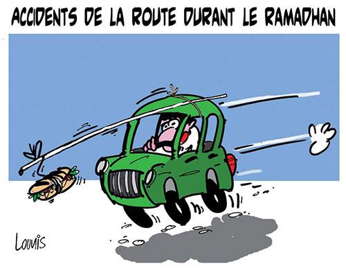 Accidents de la route durant le ramadhan - Lounis Le jour d'Algérie - Gagdz.com