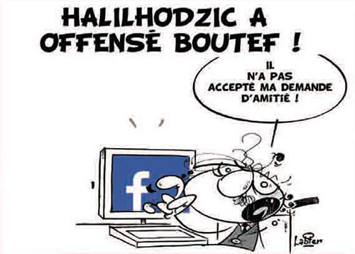 Halilhodzic a offensé Boutef - Halilhodzic - Gagdz.com