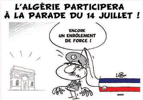L'Algérie participera à la parade du 14 juillet - participera - Gagdz.com