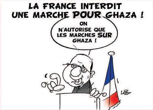La France interdit une marche pour Ghaza - Vitamine - Le Soir d'Algérie - Gagdz.com