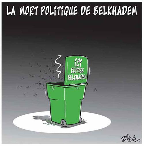 La mort politique de Belkhadem - Dilem - Liberté - Gagdz.com