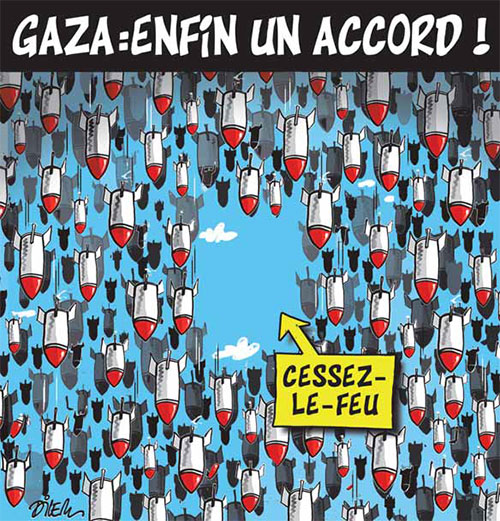 Gaza: Enfin un accord - Dilem - Liberté - Gagdz.com