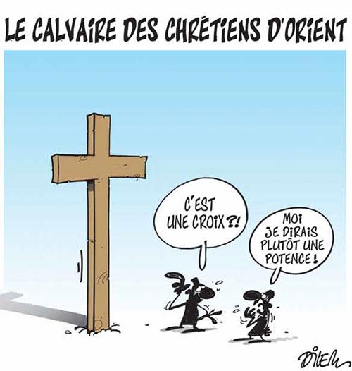 Le calvaire des chrétiens d'orient - Chrétiens - Gagdz.com