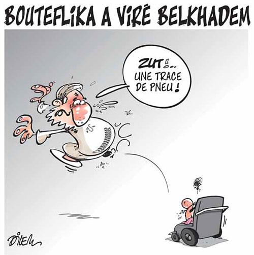 Bouteflika a viré Belkhadem - Dilem - Liberté - Gagdz.com