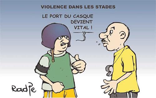 Violence dans les stades - Ghir Hak - Les Débats - Gagdz.com