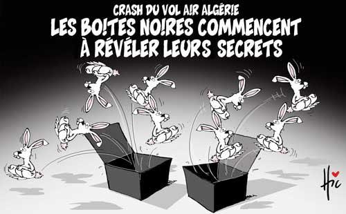 Crash du vol air Algérie: Les boites noires commencent à réveler leurs secrets - Le Hic - El Watan - Gagdz.com