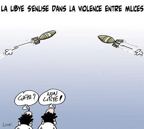 La Libye s'enlise dans la violence entre milices - Lounis Le jour d'Algérie - Gagdz.com