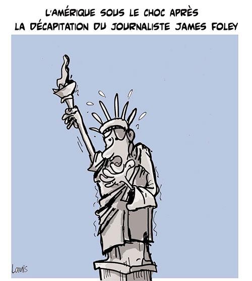 L'Amérique sous le choc après la décapitation du journaliste James Foley - Lounis Le jour d'Algérie - Gagdz.com