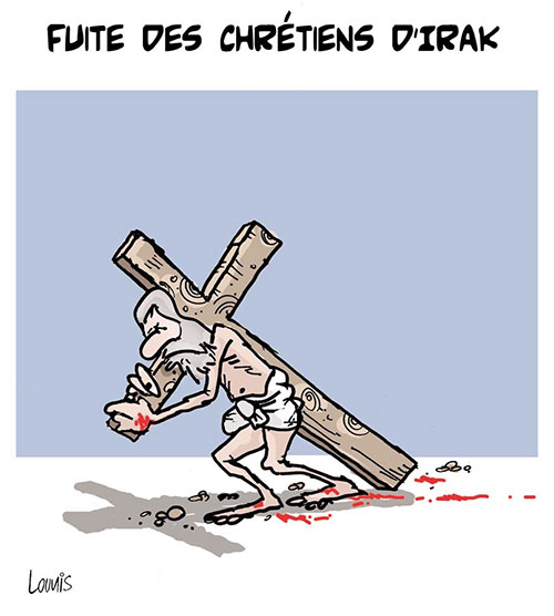 Fuite des chrétiens d'Irak - Lounis Le jour d'Algérie - Gagdz.com