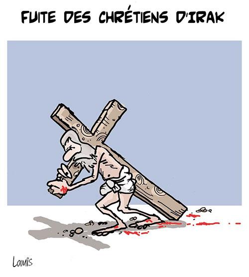 Fuite des chrétiens d'Irak - Chrétiens - Gagdz.com