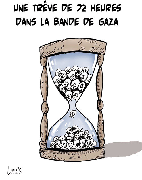Une trêve de 72 heures dans la bande de Gaza - Gaza - Gagdz.com