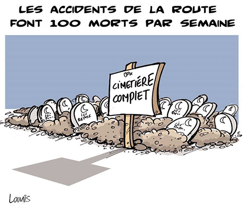Les accidents de la route font 100 morts par semaine - route - Gagdz.com