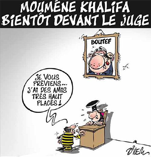 Mouméne Khalifa bientôt devant le juge - devant - Gagdz.com