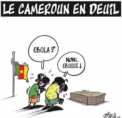 Le Cameroun en deuil - Dilem - Liberté - Gagdz.com
