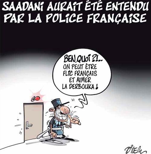 Saadani aurait été entendu par la police française - Dilem - Liberté - Gagdz.com