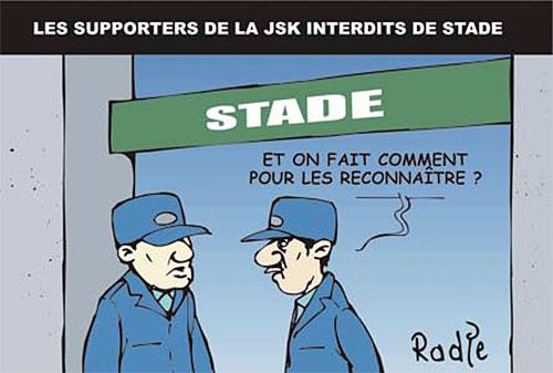 Les supporters de la JSK interdits de stade - Stade - Gagdz.com