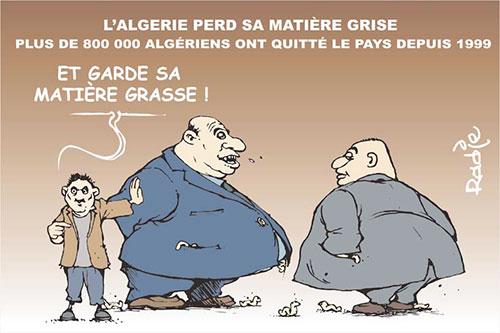 L'Algérie perd sa matière grise: Plus de 800000 algériens ont quitté le pays depuis 1999 - Ghir Hak - Les Débats - Gagdz.com