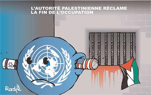 L'autorité palestinienne réclame la fin de l'occupation - Ghir Hak - Les Débats - Gagdz.com