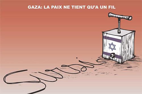 Gaza: La paix ne tient qu'à un fil - Gaza - Gagdz.com